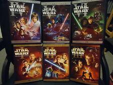 Star Wars DVD Trilogy Complete Saga Own All 6 Widescreen Movies + Bonus Discs