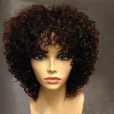 Short Curly Wigs For Black Women Synthetic Wigs African American Afro Wig NEW