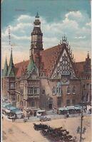 uralte AK, Breslau, Rathaus