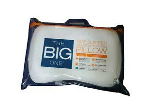 The Big One® Gel Memory Foam Side Sleeper Pillow 16'' x 24'' Standard