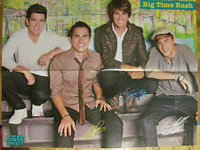 Big Time Rush, Selena Gomez, Four Page Double Sided Fold Out Poster