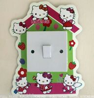 Light Switch Wall Sticker Hello Kitty Glow in the Dark