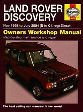 (Good)-Land Rover Discovery Diesel Service and Repair Manual: 1998 to 2004 (Serv