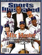 Sports Illustrated 2007 New York Mets Minaya, Perez, Randolph, Chavez, Maine NL