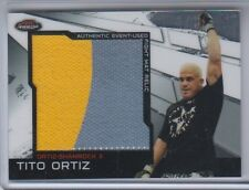 2011 Topps UFC Finest Fight Mat Jumbo Relic Tito Ortiz MR-TO NM Condition