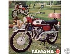 1968 Yamaha 350  Refrigerator / Tool Box Magnet