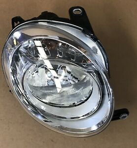 Headlight Right Fiat 500, 51787491