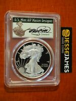 2017 W PROOF SILVER EAGLE PCGS PR70 DCAM THOMAS CLEVELAND FIRST DAY OF ISSUE FDI