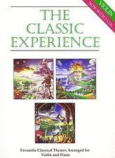 La experiencia clásica de violín & piano Partituras Tutor libro +2 CD Aprender Jugar