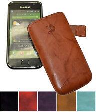 Exclusive Leder Tasche Etui Handy Hülle Slim Case für Samsung Galaxy S i9000
