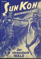 Sun Koh Der Erbe von Atlantis Nr.86 von 1953 - TOP Z0-1 ORIGINAL ROMANHEFT