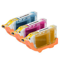 3PK CLI8C CLI8M CLI8Y for Canon CLI-8 Ink Cartridge set PIXMA MP950 MP510 iP3300