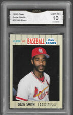 1990 Ozzie Smith All-Star Gma 10 Gem Mint Rare Edition St L Cardinals