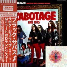 BLACK SABBATH SOBOTAGE LIVE 1975 INCL 2 BONUS DISC SYMPTOM OF THE UNIVERSE Z01