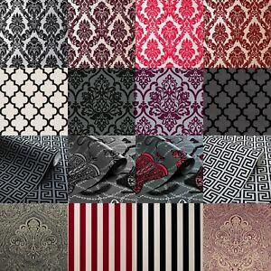 Exclusive Casablanca Luxury Velvet Flock Damask Wallpapers All Colours
