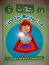 Phonic Readers Book For Children Aged 4-6 Little Red Riding Hood Brand New