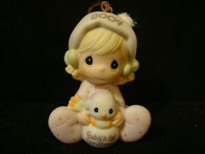Precious Moments Ornaments-Baby's 1'ST Christmas-2004LE-WITH BOX