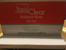 Neutrogena Rapid Clear Stubborn Acne Spot Treatment Gel EXP2022 NEW IN BOX