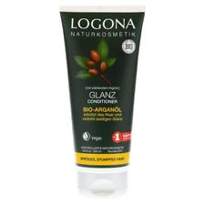 LOGONA Naturkosmetik Glanz Conditioner Bio-Arganöl, Schützt sprödes, stumpfes Ha