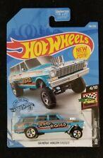2019 Hot Wheels #198 Hw Race Day '64 Nova Wagon Gasser Jerry Rigged New Mint