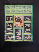 Vintage 1930s 1940s Crochet Display Chart Double Sided LAYBY