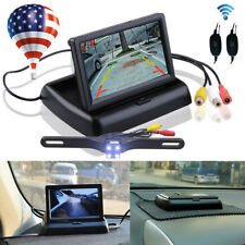 Wireless Car Reverse Rear View Backup Night Vision Camera Kit+HD TFT LCD Monitor