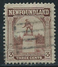Newfoundland #133(5) 1923 3 cent brown WAR MEMORIAL Used