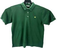 Masters Collection Augusta National Green Pima Golf Polo ShirtMen Size XL