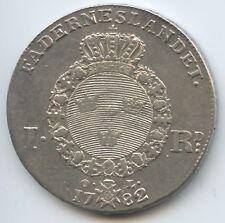 GS230 - Königreich Schweden 1 RIKSDALER 1782 Gustav III. 1771-1792 Reichstaler