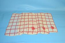 New with Tags by Hanson  3 Vintage Red & White Hand Towels