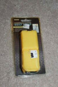 Bower yellow waterproof floating camera wrist strap water swimming beach pool
