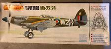 1983 Matchbox Spitfire Mk-2224 Airplane Model Kit 1/32 Scale No Instructions