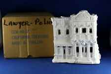 New ListingCalifornia Creations Ready to Paint Pottery Police Station Lawyers office Se184
