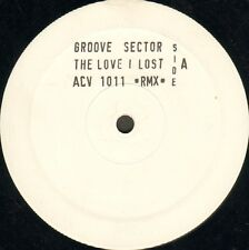 GROOVE SECTOR - The Love I Lost (Remixes) - Promo - 1992 - ACV 1011 - Ita