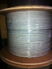CERTICABLE 100' CAT7 CAT-7 INDOOR GRAY SHIELDED COPPER CABLE 10GB 10 GIGABIT