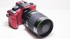 500 mm = Lente 1000 mm en Panasonic Lumix G Micro 4/3 pluma Asociación HD GH2 GF2 GF3 GF5 GM1