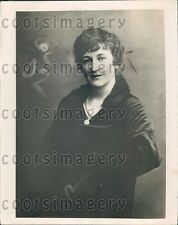 1919 Mary Ethel Metheun Wife of Paul 3rd Baron Metheun Press Photo