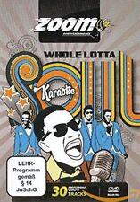Zoom Karaoke Whole Lotta Soul & Motown (Region Free) DVD - 30 Male Soul Hits!
