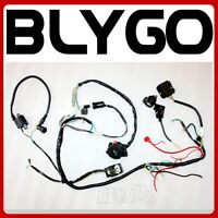 buggy wiring harness gy6 150cc chinese electric start kandi go  | 300 x 300