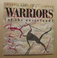 "FRANKIE GOES TO HOLLYWOOD Warriors 1986 UK 7"" VINYL SINGLE IN PICTURE SLEEVE"