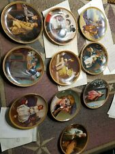 "New ListingNorman Rockwell ""Rediscovered Women"" Collector Plates Set Of 12 Orig. Box Coa"