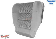 2003 Ford F150 XLT Extended-X-Cab -Passenger Side Bottom Cloth Seat Cover Gray