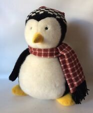 Joey's Friend Hugsy Plush Penguin Friends With Scarf/Hat Authentic