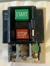 Allen Bradley Manual Start Stop Power Switch #609