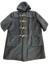 Vintage Gloverall Duffle Coat Large Nice Condition Grey