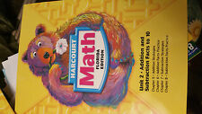 97899974466029000 Harcourt Math Unit 2 Addition and Subtraction Facts Grade 1