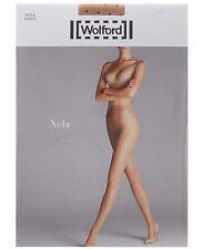 WOLFORD NOLA Polka Dot Tights in Gobi/Black Sz: XL  Ret:$67  New/Packaged