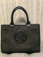 Authentic TORY BURCH Wool Leather Tote Medium