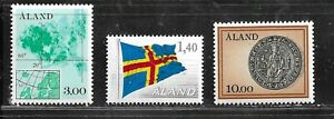 HICK GIRL- MINT ALAND ISLAND STAMP   1984-90 ISSUES      E1518
