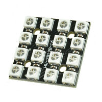 16Bit RGB 4x4 LED WS2812B 5050 RGB LED + Integrated Drivers For Arduino
